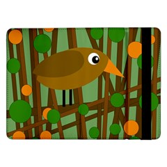 Brown bird Samsung Galaxy Tab Pro 12.2  Flip Case
