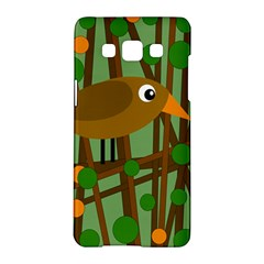 Brown bird Samsung Galaxy A5 Hardshell Case