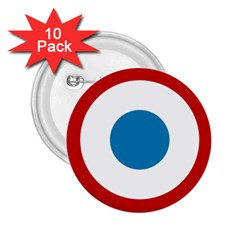 Roundel of the French Air Force  2.25  Buttons (10 pack)