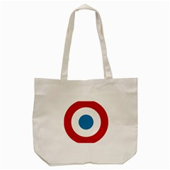 Roundel of the French Air Force  Tote Bag (Cream)