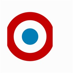 Roundel of the French Air Force  Small Garden Flag (Two Sides)