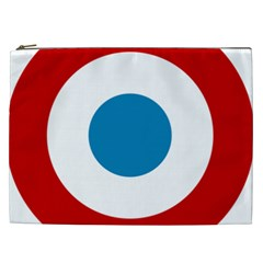 Roundel of the French Air Force  Cosmetic Bag (XXL)