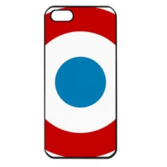 Roundel of the French Air Force  Apple iPhone 5 Seamless Case (Black)