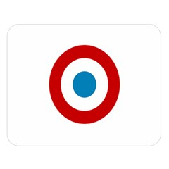Roundel of the French Air Force  Double Sided Flano Blanket (Large)