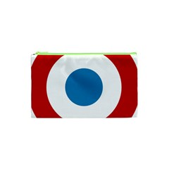 Roundel of the French Air Force  Cosmetic Bag (XS)