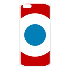 Roundel of the French Air Force  Apple Seamless iPhone 6 Plus/6S Plus Case (Transparent)