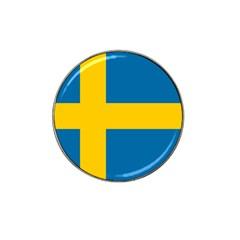 Flag Of Sweden Hat Clip Ball Marker