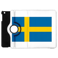Flag of Sweden Apple iPad Mini Flip 360 Case