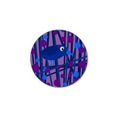 Purple bird Golf Ball Marker (10 pack)