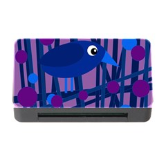 Purple bird Memory Card Reader with CF