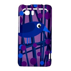 Purple bird HTC Vivid / Raider 4G Hardshell Case