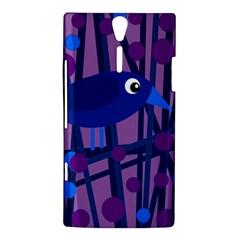 Purple bird Sony Xperia S