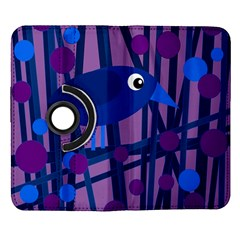 Purple bird Samsung Galaxy Note II Flip 360 Case