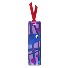 Purple bird Small Book Marks