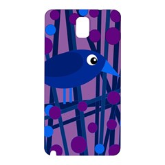 Purple bird Samsung Galaxy Note 3 N9005 Hardshell Back Case