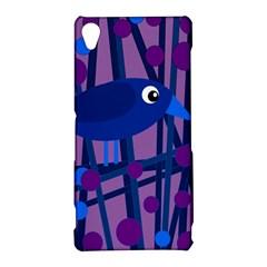 Purple bird Sony Xperia Z3