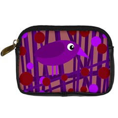 Sweet purple bird Digital Camera Cases
