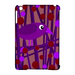 Sweet purple bird Apple iPad Mini Hardshell Case (Compatible with Smart Cover)