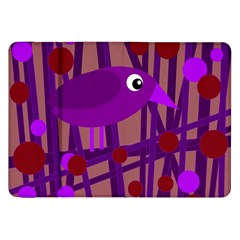 Sweet purple bird Samsung Galaxy Tab 8.9  P7300 Flip Case