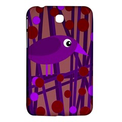 Sweet purple bird Samsung Galaxy Tab 3 (7 ) P3200 Hardshell Case