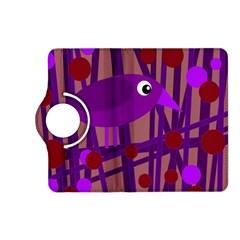 Sweet purple bird Kindle Fire HD (2013) Flip 360 Case