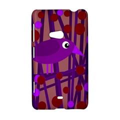 Sweet purple bird Nokia Lumia 625