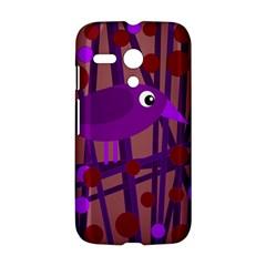 Sweet purple bird Motorola Moto G