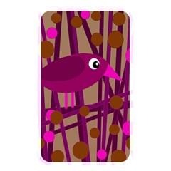 Cute magenta bird Memory Card Reader