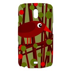 Red cute bird Samsung Galaxy Nexus i9250 Hardshell Case