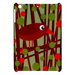Red cute bird Apple iPad Mini Hardshell Case