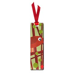 Red cute bird Small Book Marks
