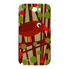 Red cute bird Samsung Note 2 N7100 Hardshell Back Case
