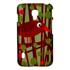 Red cute bird LG Optimus L7 II