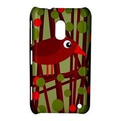 Red cute bird Nokia Lumia 620