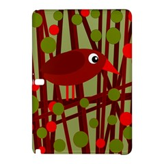 Red cute bird Samsung Galaxy Tab Pro 12.2 Hardshell Case
