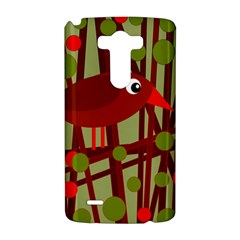 Red cute bird LG G3 Hardshell Case