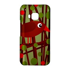 Red cute bird HTC One M9 Hardshell Case