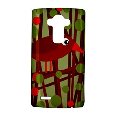 Red cute bird LG G4 Hardshell Case