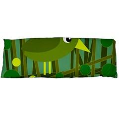 Cute green bird Body Pillow Case Dakimakura (Two Sides)