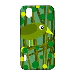 Cute green bird LG Optimus P970