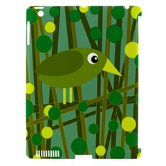 Cute green bird Apple iPad 3/4 Hardshell Case (Compatible with Smart Cover)