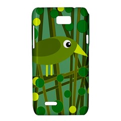 Cute green bird Motorola XT788