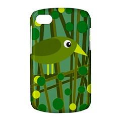 Cute green bird BlackBerry Q10