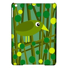 Cute green bird iPad Air Hardshell Cases