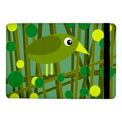 Cute green bird Samsung Galaxy Tab Pro 10.1  Flip Case