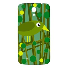 Cute green bird Samsung Galaxy Mega I9200 Hardshell Back Case