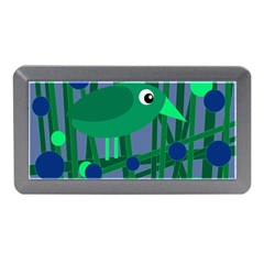 Green and blue bird Memory Card Reader (Mini)
