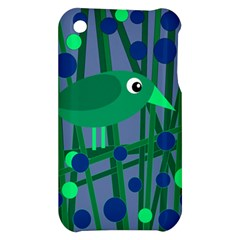 Green and blue bird Apple iPhone 3G/3GS Hardshell Case