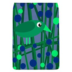 Green and blue bird Flap Covers (S)