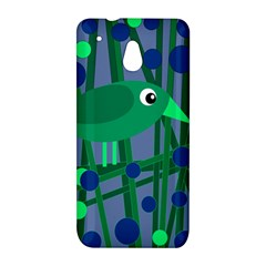 Green and blue bird HTC One Mini (601e) M4 Hardshell Case